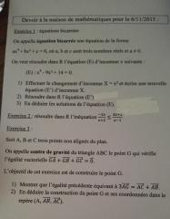 dm math 1ere S