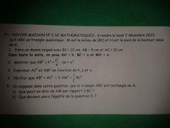 DM DE maths