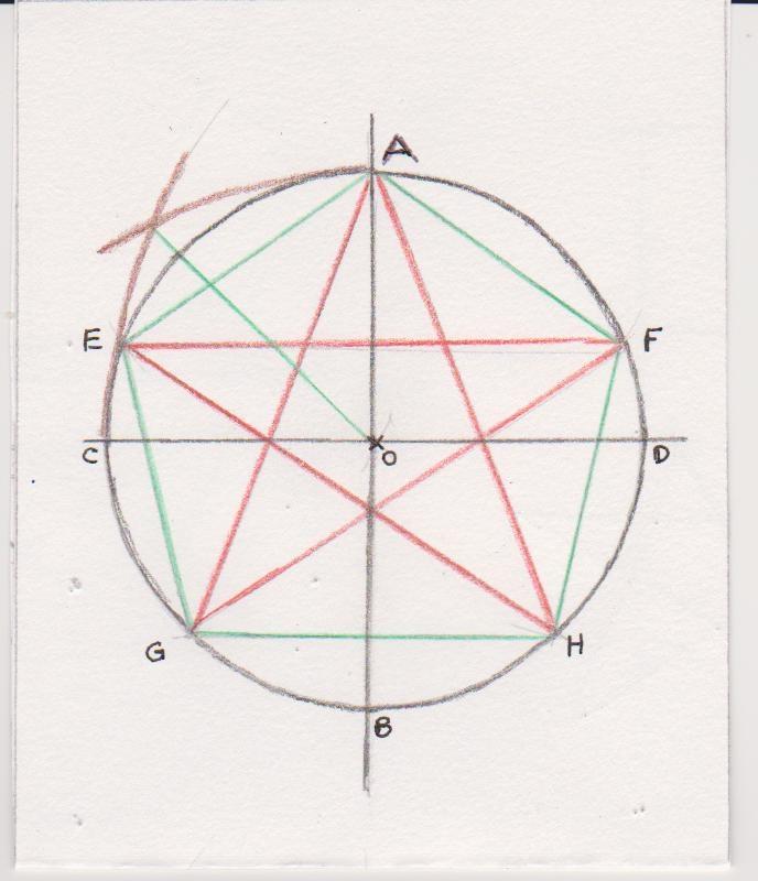 Belle étoile à 5 branches petit énoncé - Mathématiques - E-Bahut - site SB-14