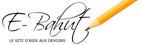 E-Bahut - site d'aide aux devoirs